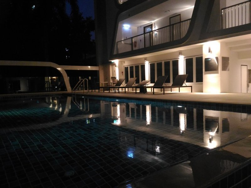 Le Tada Parkview Hotel Hallenbad