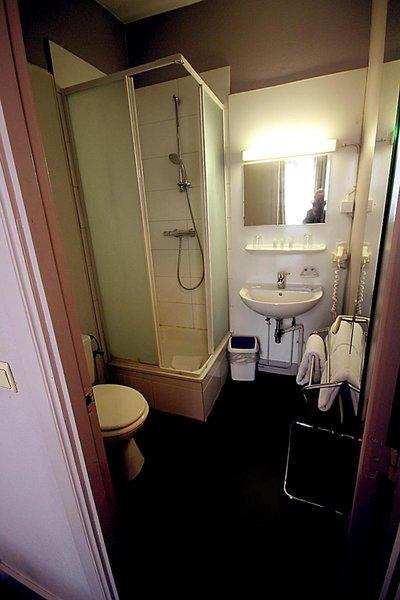 Derby Hotel Badezimmer