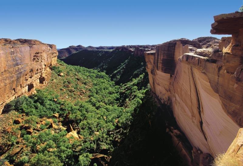 Kings Canyon Resort Landschaft