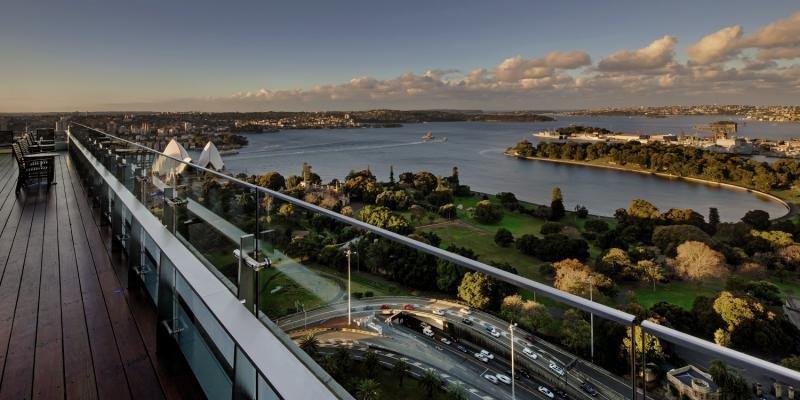 Intercontinental Sydney Außenaufnahme