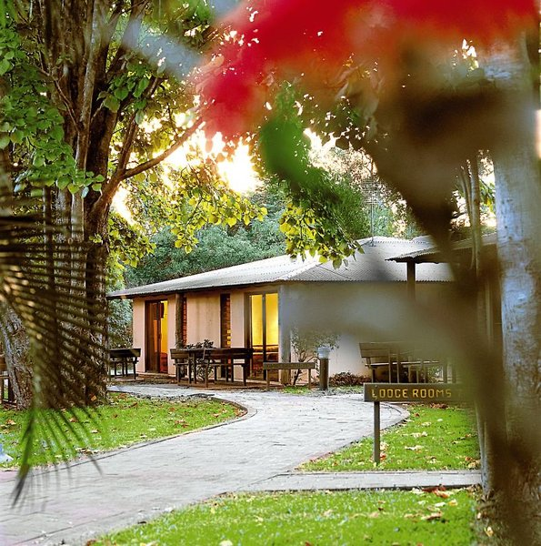 Cooinda Lodge Kakadu Außenaufnahme
