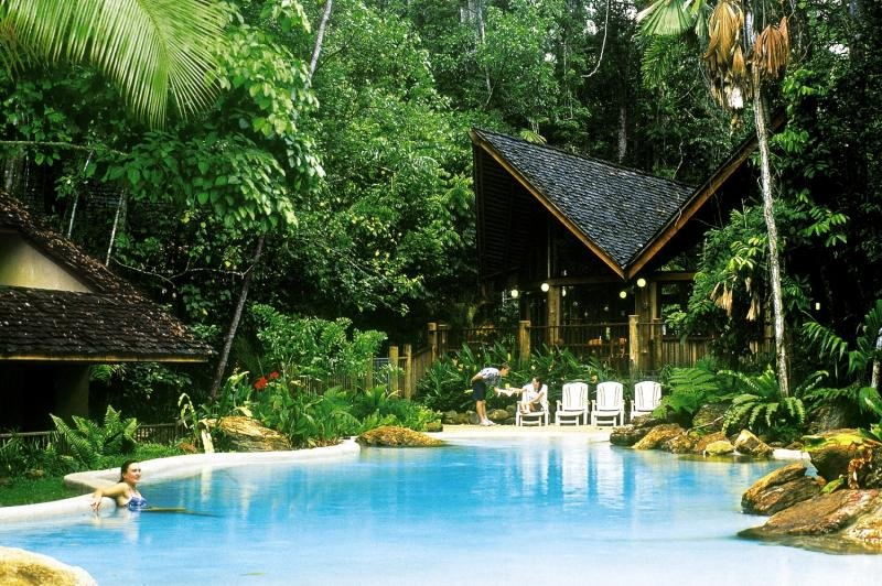 Ferntree Rainforest Lodge Pool