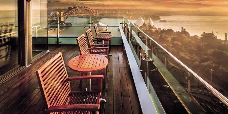 Intercontinental Sydney Terrasse