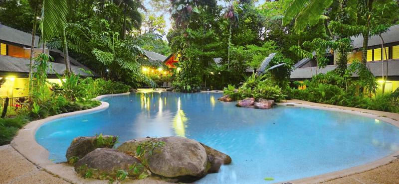 Ferntree Rainforest Lodge Landschaft