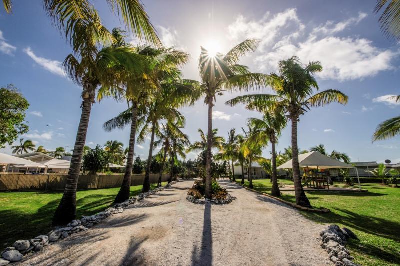 Lady Elliot Island Eco Resort Garten