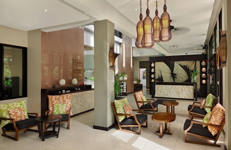 DoubleTree Resort & Spa by Hilton Seychelles - Allamanda Lounge/Empfang