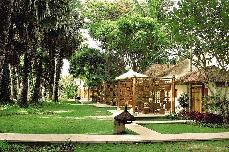 Belmond Jimbaran Puri Bali Garten