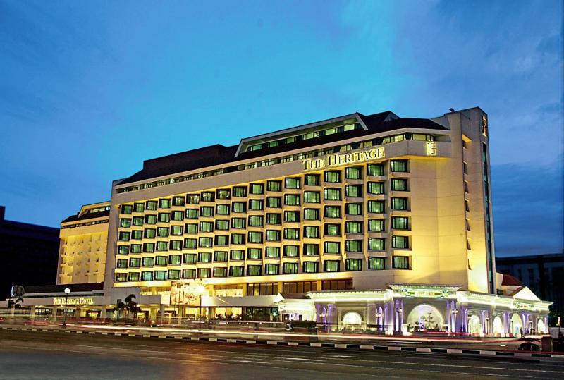 The Heritage Hotel Manila Außenaufnahme