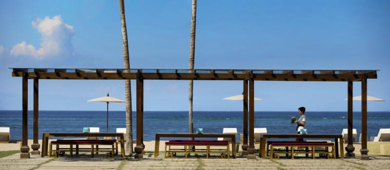 SADARA Boutique Beach Resort Terrasse