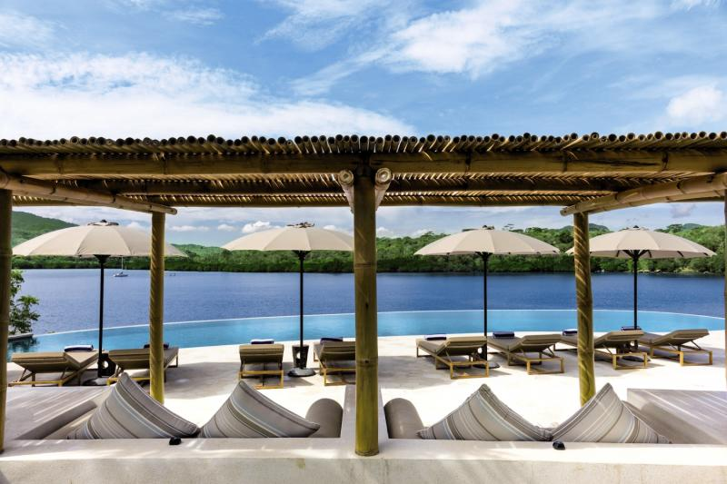 Menjangan Dynasty Resort, Beach Camp & Dive Centre Terrasse