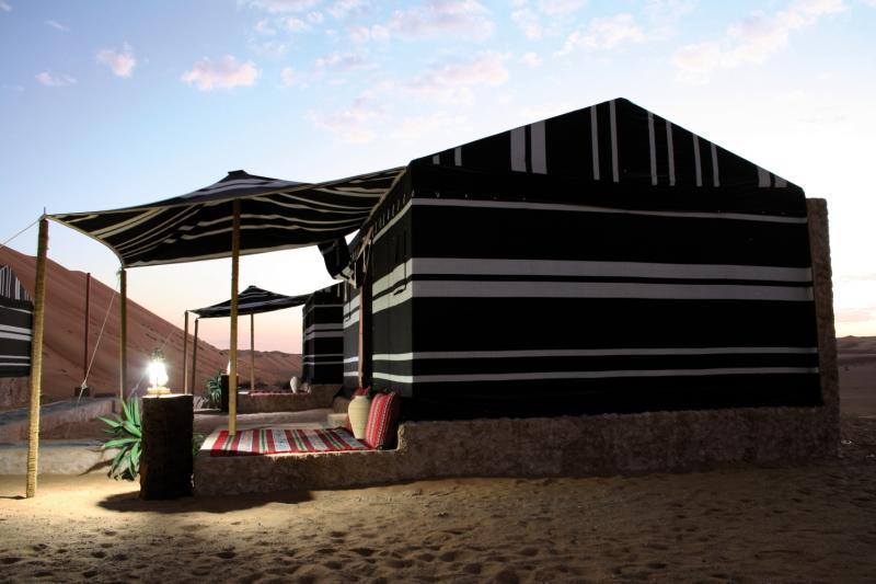 Sama Al Wasil Camp Außenaufnahme