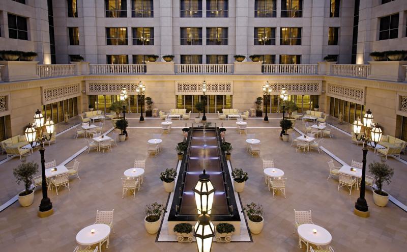 Habtoor Palace, LXR Hotels & Resorts  Terrasse