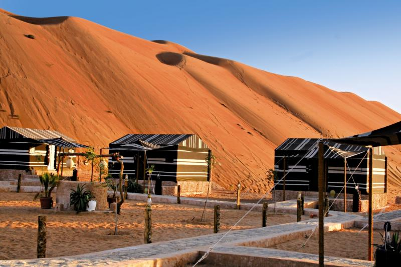 Sama Al Wasil Camp Terrasse