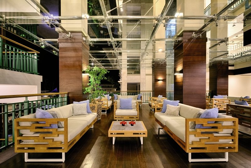Savoy Seychelles Resort & Spa Lounge/Empfang