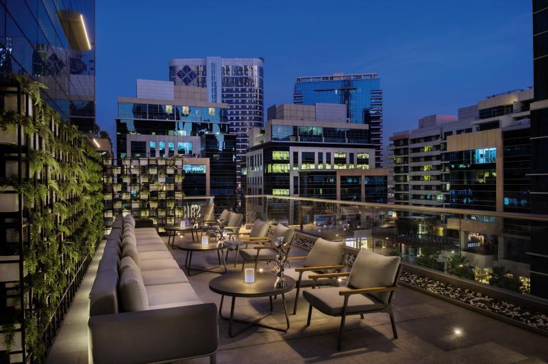 DoubleTree by Hilton Dubai - Business Bay Terrasse