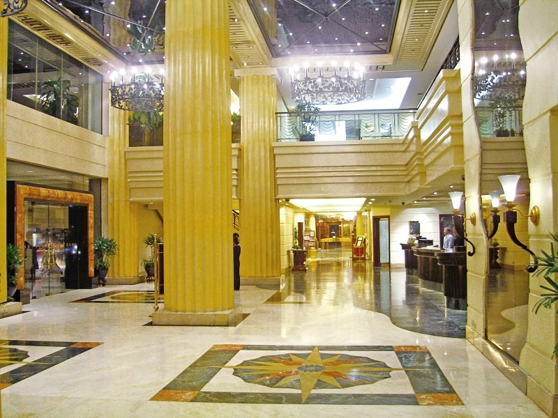 The Heritage Hotel Manila Lounge/Empfang