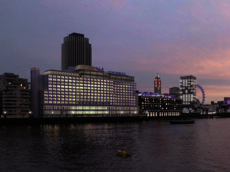 Sea Containers London  Außenaufnahme