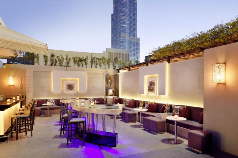 Address Dubai Mall Terrasse