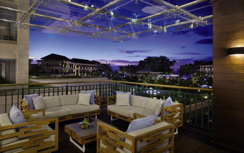 Savoy Seychelles Resort & Spa Terrasse