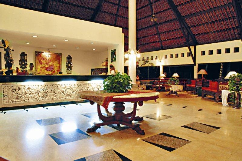 Sativa Sanur Cottages Lounge/Empfang