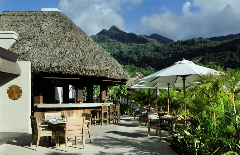 The H Resort Beau Vallon Beach Bar