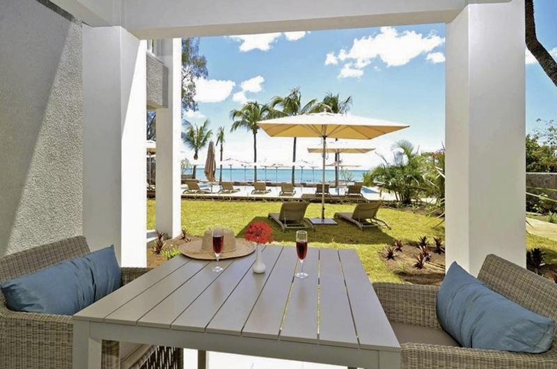 Mont Choisy Beach Resort Garten