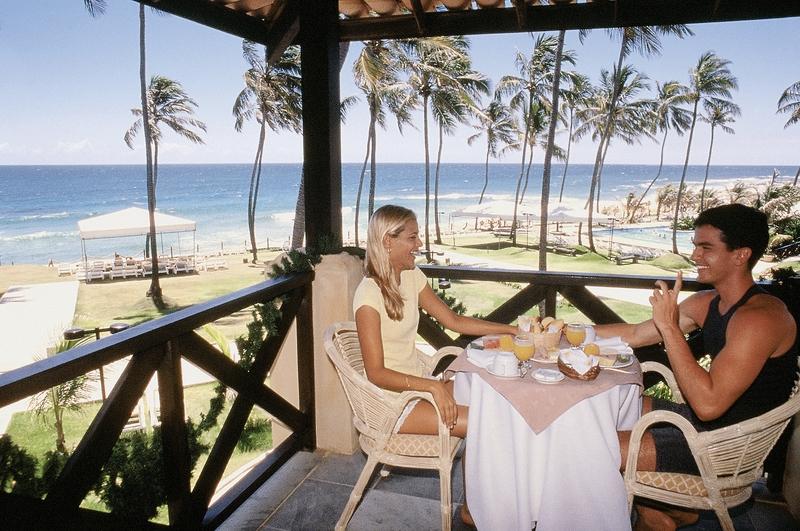 Catussaba Resort Terrasse