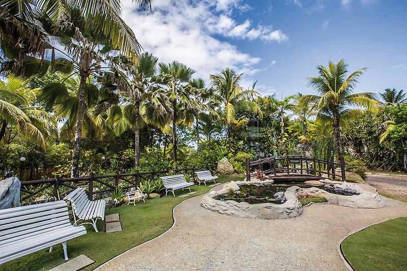 Catussaba Resort Garten