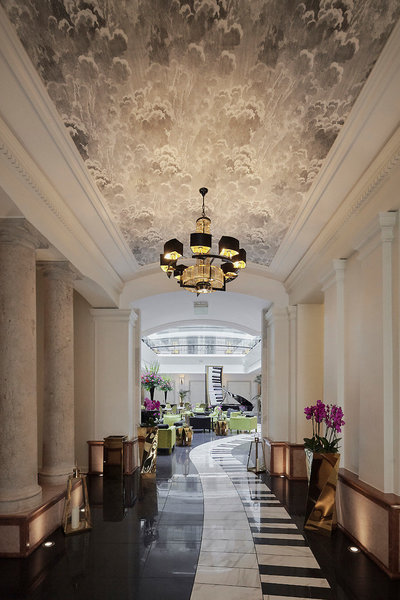 Aria Hotel Budapest Lounge/Empfang