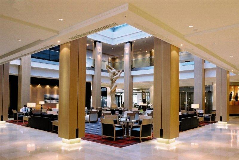 Hilton Vienna Lounge/Empfang