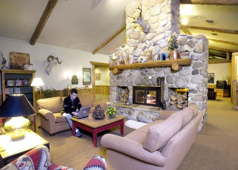 Buck´s T-4 Lodge Lounge/Empfang