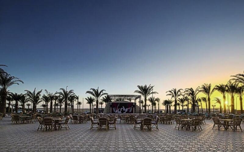 Nubia Aqua Beach Resort Landschaft