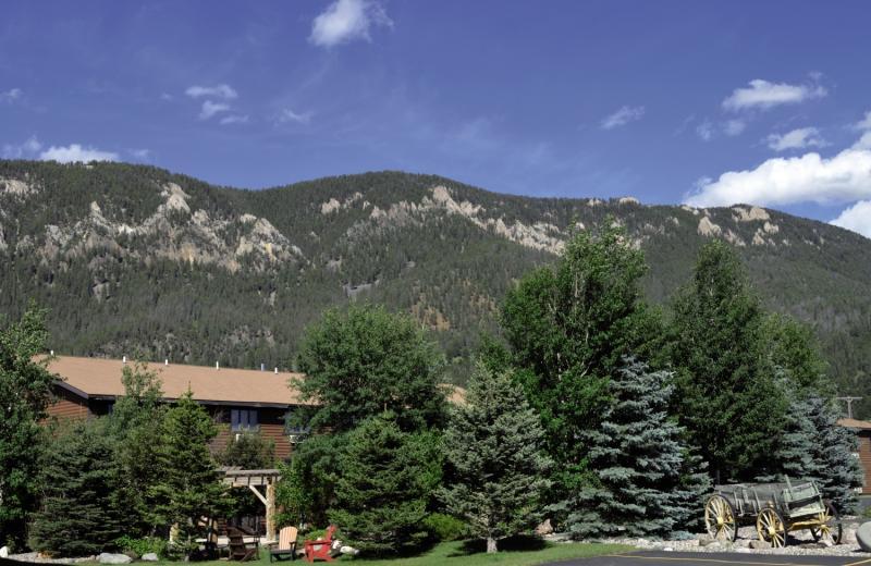 Buck´s T-4 Lodge Landschaft