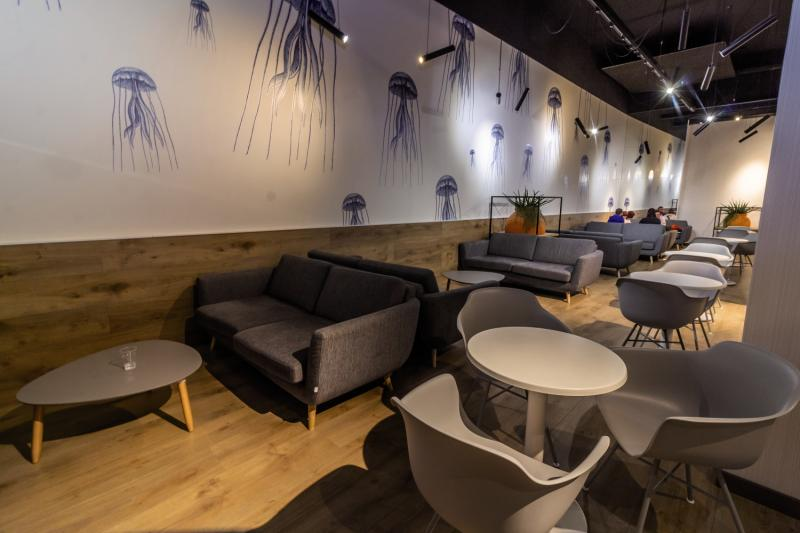 Cuco Hotel  Lounge/Empfang