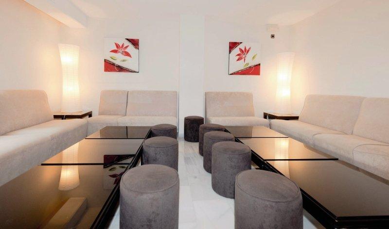 Nerja Club & Spa Lounge/Empfang