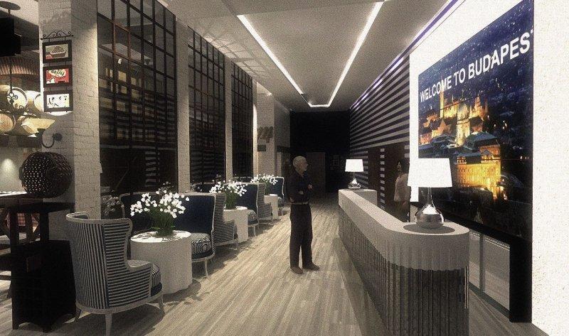 Estilo Fashion Hotel Lounge/Empfang