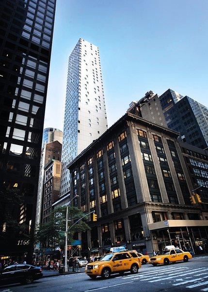 Cassa Hotel 45th Street New York Außenaufnahme