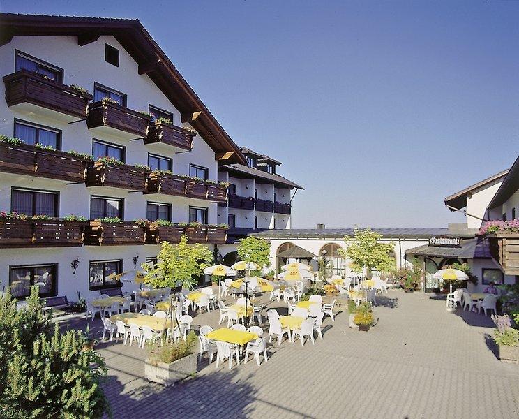 Urlaubshotel Binder Terrasse