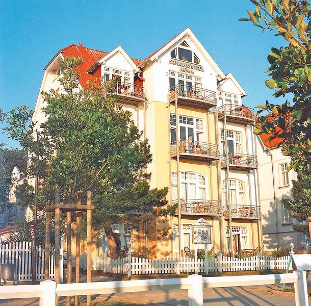 Strandhotel Möwe Bansin Außenaufnahme