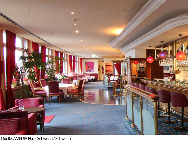 Amedia Plaza Schwerin Sure Hotel Collection by BW Bar