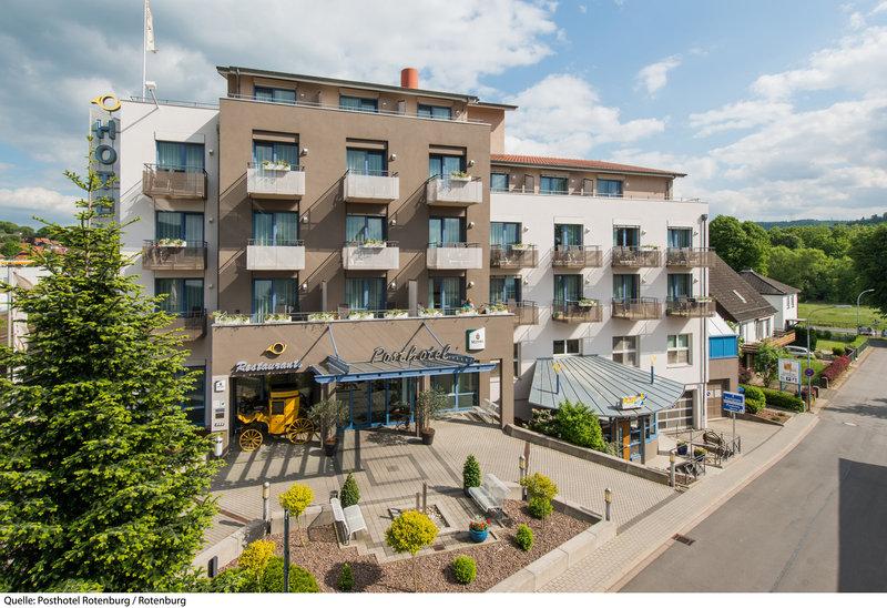 Posthotel Rotenburg Außenaufnahme