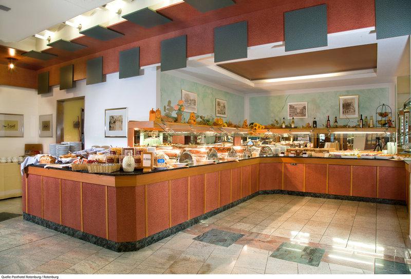 Posthotel Rotenburg Lounge/Empfang