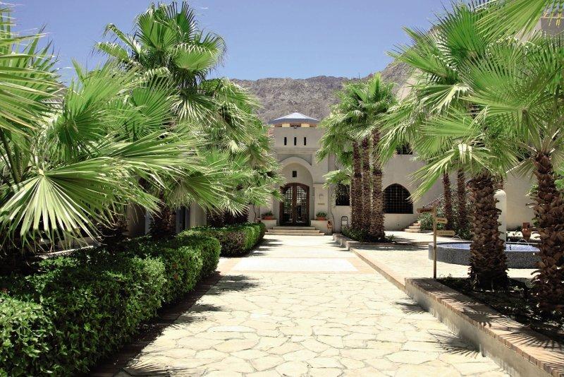 El Wekala Golf Resort Taba Heights Garten