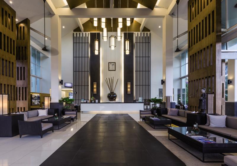 Kantary Beach Hotel Villas & Suites Khao Lak Lounge/Empfang