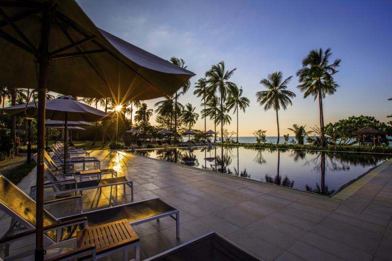 Kantary Beach Hotel Villas & Suites Khao Lak Terrasse