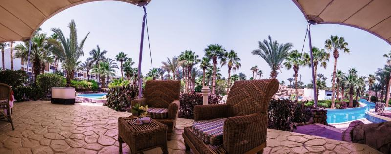 Jolie Ville Golf & Resort  Terrasse