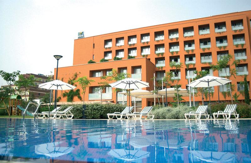 im Hotel Abba Garden 2 Tage in Barcelona & Umgebung
